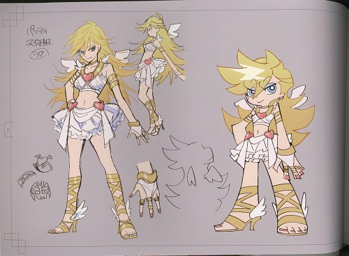 Gainax, Panty and Stocking with Garterbelt, Panty Anarchy, Character Sheet