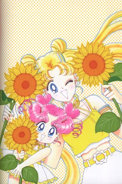 Naoko Takeuchi, Bishoujo Senshi Sailor Moon, BSSM Original Picture Collection Vol. V, Chibi Chibi, Usagi Tsukino