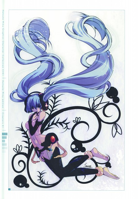 Shiina (Mangaka), CV01 Hatsune Miku, Vocaloid, Miku Hatsune