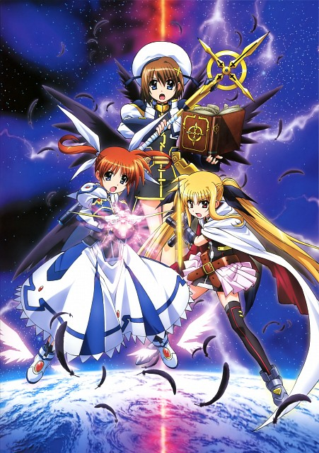 Seven Arcs, Mahou Shoujo Lyrical Nanoha, MSLN The Movie 2nd A's Visual Collection Second, Nanoha Takamachi, Hayate Yagami
