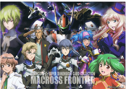 Satelight, Macross Frontier, Klan Klang, Sheryl Nome, Ranka Lee