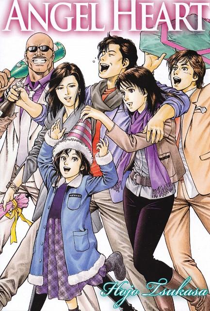 Tsukasa Hojo, Angel Heart, Hayato Ijuuin, Xiang Ying Li, Saeko Nougami
