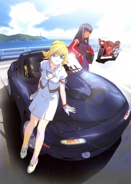 Kousuke Fujishima, Actas, eX-Driver, Rei Kazama, Nina Anna Thunder