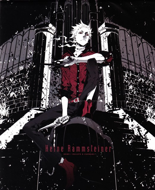 Miwa Shirow, Dogs: Bullets and Carnage, Haine Rammsteiner
