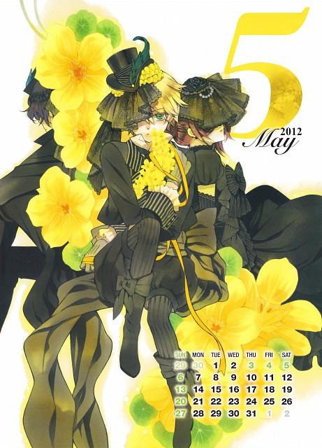 Jun Mochizuki, Xebec, Pandora Hearts, Pandora Hearts COMIC SPECIAL CALENDAR 2012, Alice (Pandora Hearts)