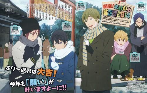 Makita Masaya, Kyoto Animation, Free!, Nagisa Hazuki, Rei Ryuugazaki