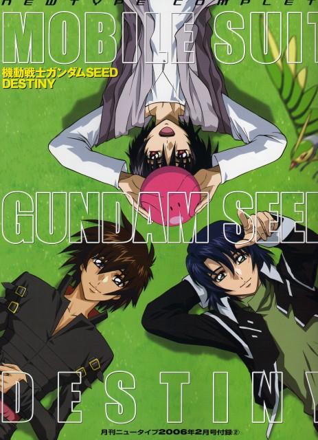 Sunrise (Studio), Mobile Suit Gundam SEED Destiny, Shinn Asuka, Haro, Kira Yamato