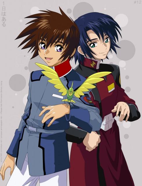 Sunrise (Studio), Mobile Suit Gundam SEED, Torii (Gundam SEED), Athrun Zala, Kira Yamato