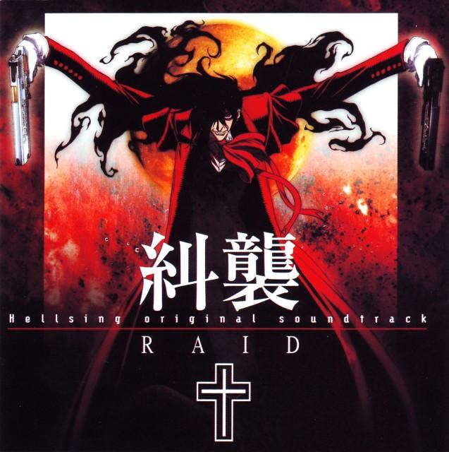 Kouta Hirano, Geneon/Pioneer, Hellsing, Alucard, Album Cover