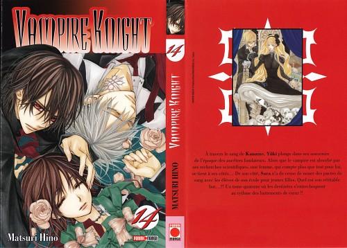 Matsuri Hino, Vampire Knight, Zero Kiryuu, Sara Shirabuki, Yuuki Cross