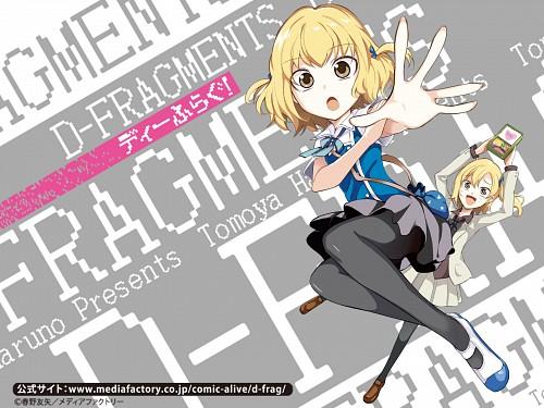 D-Frag, Roka Shibasaki, Official Wallpaper