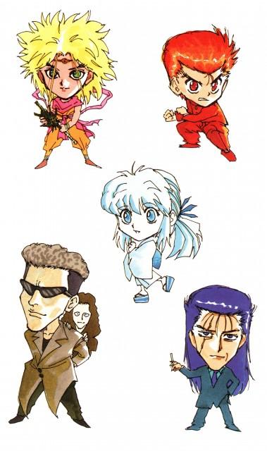 Yoshihiro Togashi, Yuu Yuu Hakusho, Suzaku (Yuu Yuu Hakusho), Yukina, Toguro Otouto