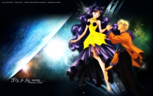 Toei Animation, Bishoujo Senshi Sailor Moon, Kakeru Ozora, Human Luna Wallpaper