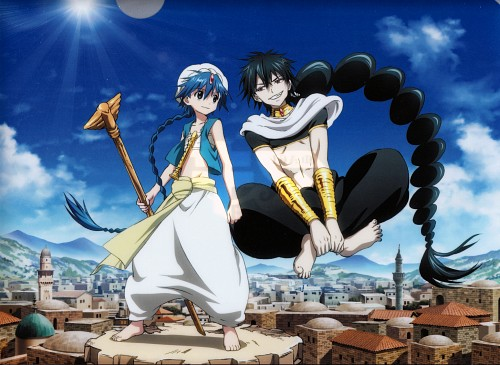 Shinobu Ohtaka, A-1 Pictures, MAGI: The Labyrinth of Magic, Judal (MAGI), Aladdin (MAGI)