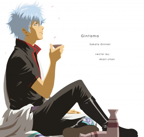 Sunrise (Studio), Gintama, Gintoki Sakata, Vector Art