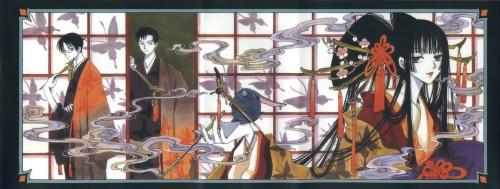 CLAMP, xxxHOLiC, Kimihiro Watanuki, Shizuka Doumeki, Mokona