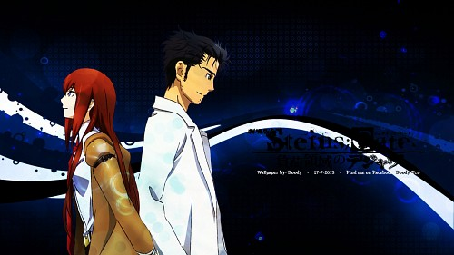 Nitro+, White Fox, Steins Gate, Rintarou Okabe, Kurisu Makise Wallpaper