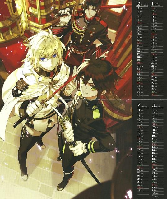 Yamato Yamamoto, Production I.G, Owari no Seraph, Guren Ichinose, Michaela Hyakuya