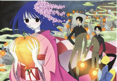 CLAMP, Production I.G, xxxHOLiC, Kimihiro Watanuki, Zashiki Warashi (xxxHOLiC)