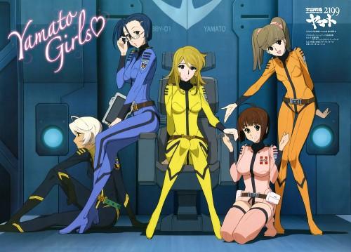 Nobuteru Yuuki, Xebec, Space Battleship Yamato 2199, Akira Yamamoto (Space Battleship Yamato 2199), Yuki Mori