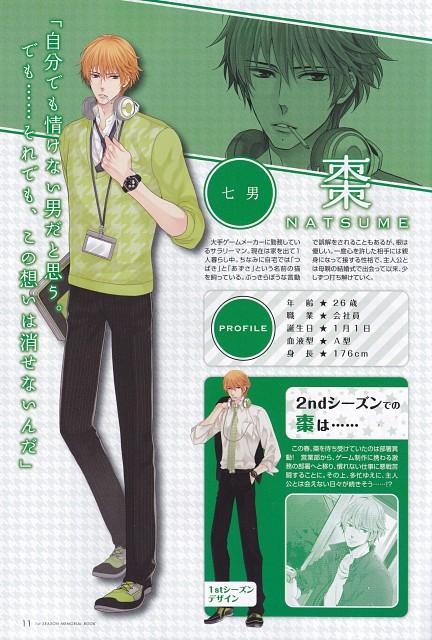 Udajo, Idea Factory, Brothers Conflict, Natsume Asahina, Character Sheet