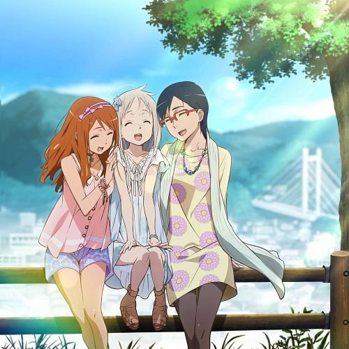 A-1 Pictures, AnoHana, Naruko Anjou, Meiko Honma, Chiriko Tsurumi