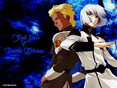 Sunrise (Studio), Mobile Suit Gundam SEED Destiny, Yzak Joule, Dearka Elthman Wallpaper