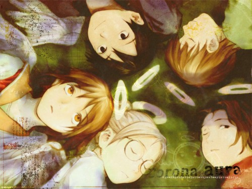 Yoshitoshi Abe, Radix, Haibane Renmei, Hikari (Haibane Renmei), Rakka Wallpaper