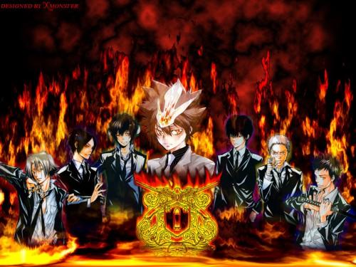 Akira Amano, Artland, Katekyo Hitman Reborn!, Mukuro Rokudo, Ryohei Sasagawa Wallpaper
