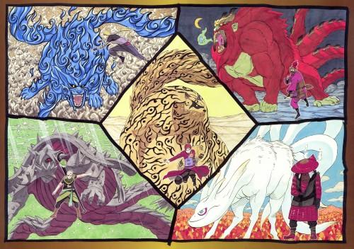 Masashi Kishimoto, Naruto, NARUTO Illustrations, Roushi , Yugito Nii