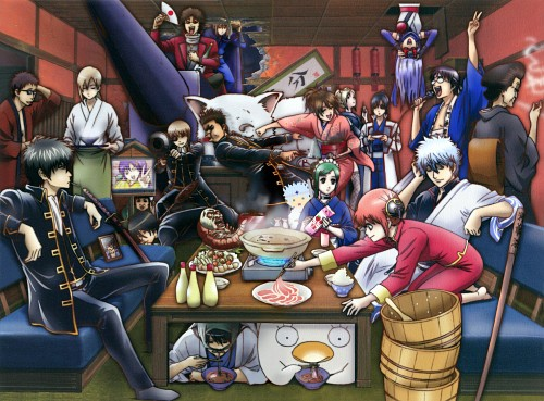Hideaki Sorachi, Sunrise (Studio), Gintama, Sougo Okita, Kotaro Katsura