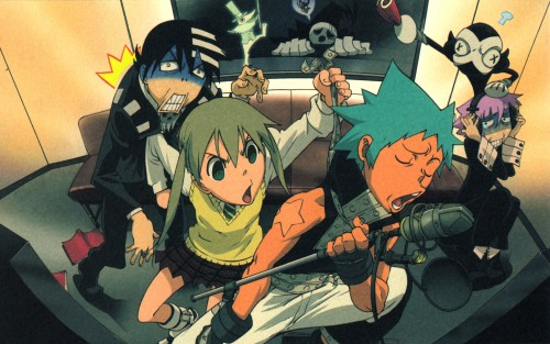 Atsushi Okubo, BONES, Soul Eater, Excalibur, Black Star