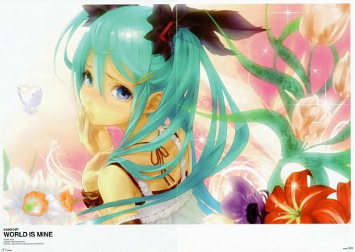 redjuice, INSIDE: redjuicegraphics Works 2008 Winter, Supercell Works, Vocaloid, Miku Hatsune