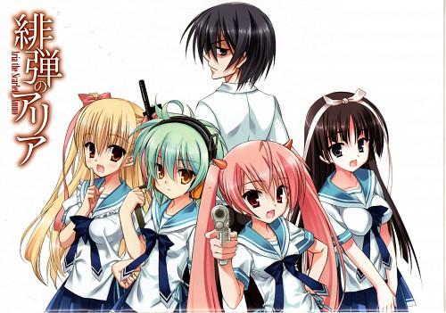 Kobuichi, Hidan no Aria, Reki (Hidan no Aria), Shirayuki Hotogi, Aria Holmes Kanzaki