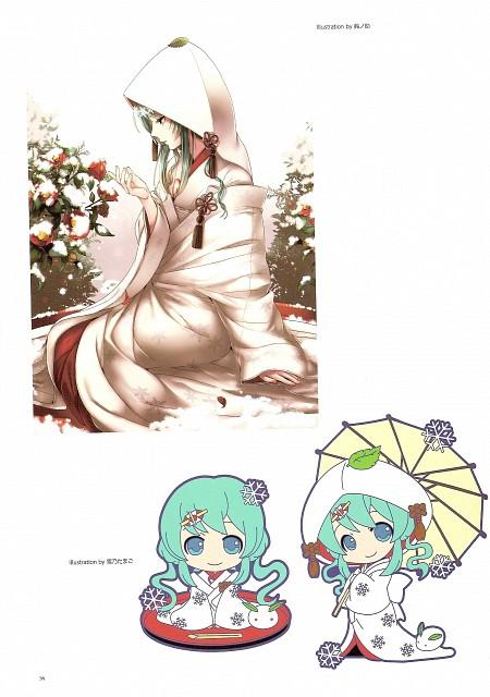 Suzunosuke, Snow Miku 5th Anniversary Memorial Book, Vocaloid, Miku Hatsune