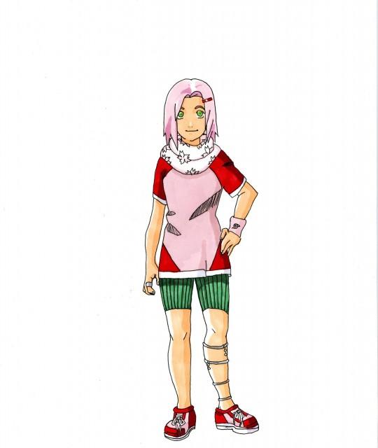 Studio Pierrot, Naruto, Sakura Haruno, Member Art