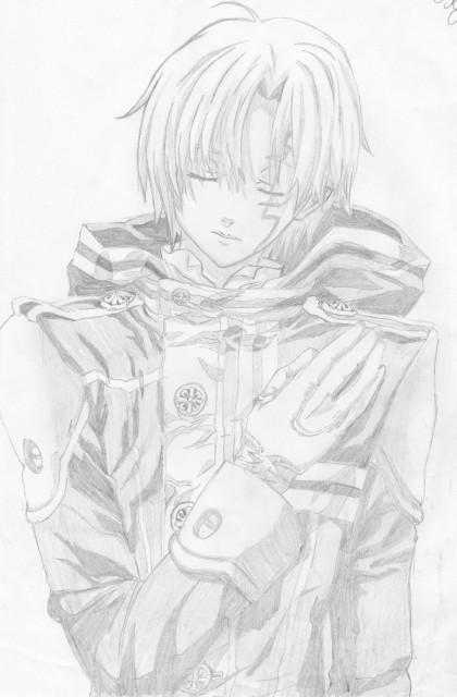 Katsura Hoshino, TMS Entertainment, D Gray-Man, Allen Walker, Member Art