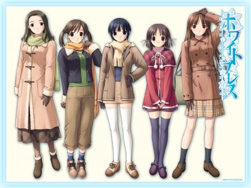 White Breath, Ayumi Hiiragi, Nagisa Tomine, Yoshino Kasuga, Nonoka Asaba