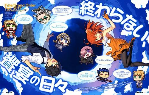 Aniplex, Fate/Grand Order, Fujimaru Ritsuka, Gudako, Newtype Magazine