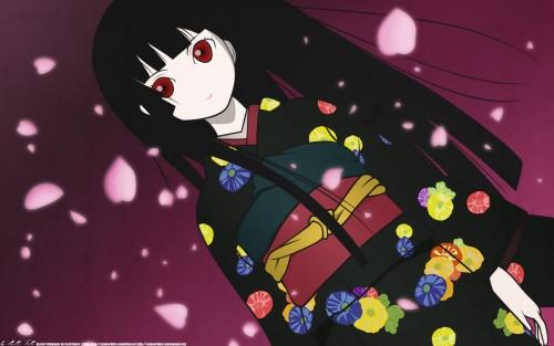 Mariko Oka, Miyuki Etoo, Studio Deen, Jigoku Shoujo, Ai Enma Wallpaper