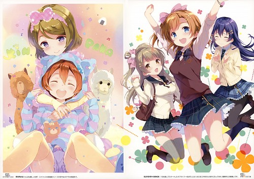 Ohara Tometa, QP:flapper, Sunrise (Studio), Qpchick Colors Another Step, Love Live! School Idol Project