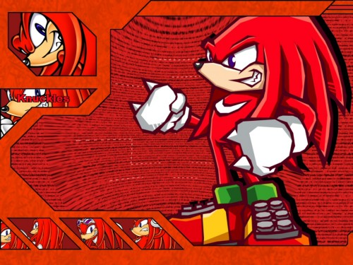 Sega, SNK, Sonic the Hedgehog, Knuckles the Echidna Wallpaper