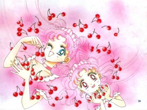 Naoko Takeuchi, Bishoujo Senshi Sailor Moon, BSSM Original Picture Collection Vol. IV, Usagi Tsukino, Chibi Usa