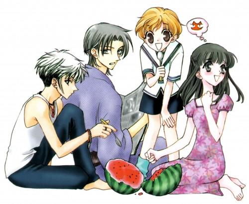 Natsuki Takaya, Fruits Basket, Hatsuharu Sohma, Kagura Sohma, Shigure Sohma