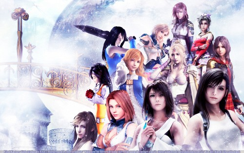 Square Enix, Final Fantasy IX, Final Fantasy XII, Final Fantasy XIII, Final Fantasy XI Wallpaper
