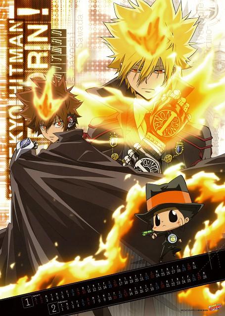 Akira Amano, Katekyo Hitman Reborn!, Leon (Katekyo Hitman Reborn!), Reborn (Character), Giotto