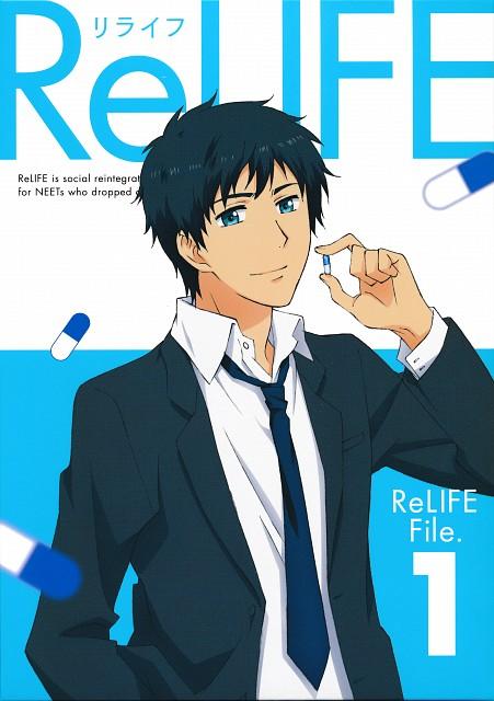 TMS Entertainment, ReLIFE, Arata Kaizaki, DVD Cover