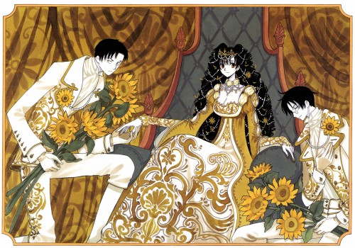 CLAMP, xxxHOLiC, Shizuka Doumeki, Kimihiro Watanuki, Himawari Kunogi