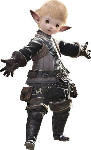 Square Enix, Final Fantasy XIV, Lalafell, Papalymo