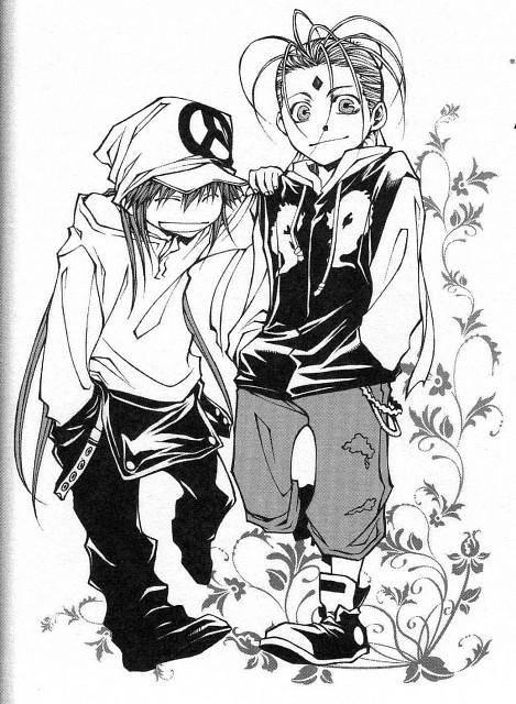 Kazuya Minekura, Saiyuki Gaiden, Son Goku (Saiyuki), Nataku Taishi